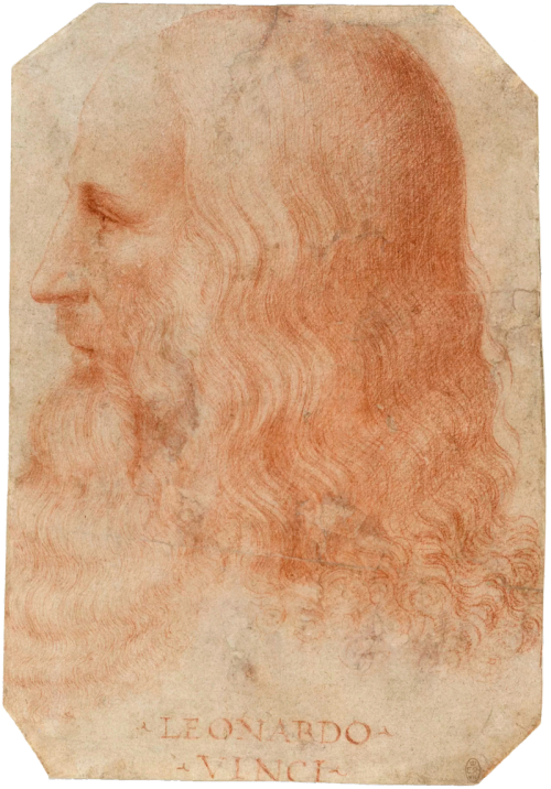 Melzi's portrait of Leonardo