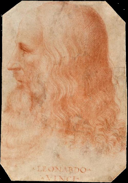 Melzi's portrait of Leonardo