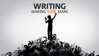 Exhibition poster for Writing - Making Your Mark