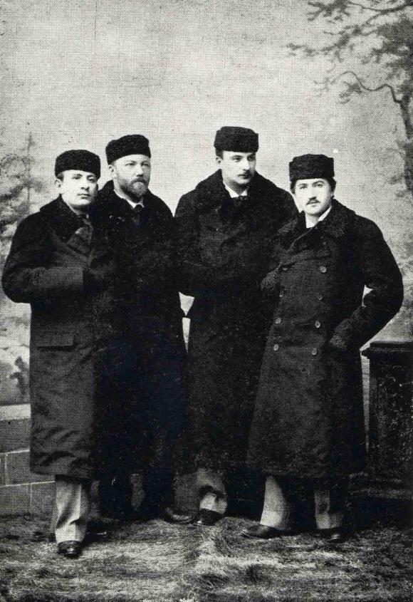 Bohemian Quartet 1895