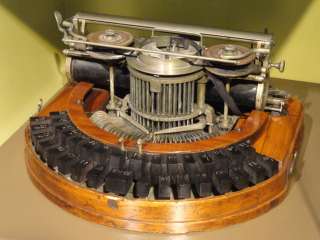 Image of Hammonds Typewriter US224088