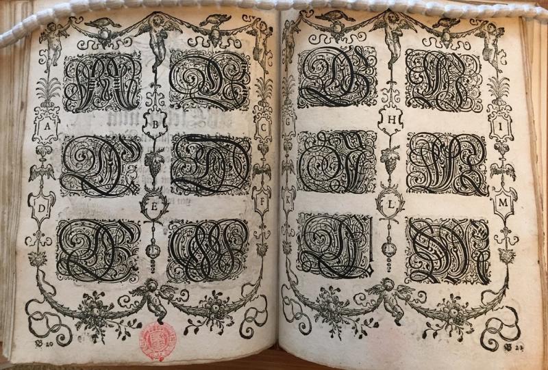 Schreibkunst 1631 A-L