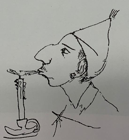 Pirandello's nose 2