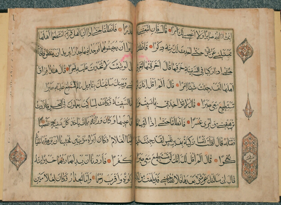 Large, bold, hand in a Qur'an, Daghistan, 19th century. Or. 16759