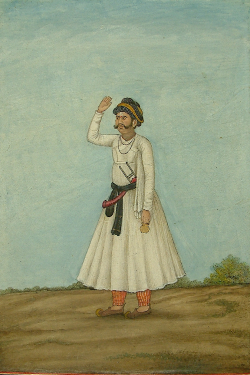 Bhatt. From James Skinner's Tashrīh al-Aqwām, Delhi, 1825 (BL Add. 27,255, f. 129v)
