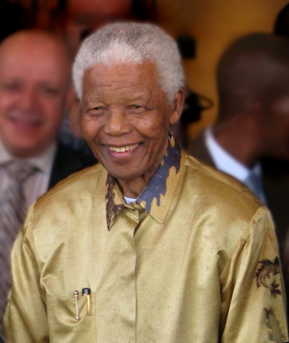 Photograph of Nelson Mandela