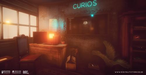 Screenshot from Digital Fiction Curious