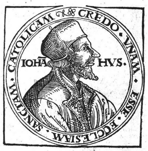 Portrait of Jan Hus