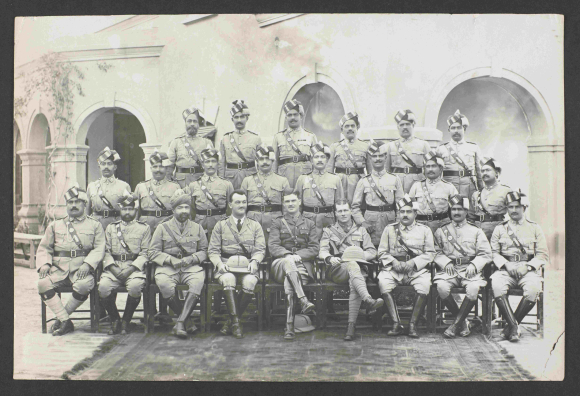 Indian Police group photograph