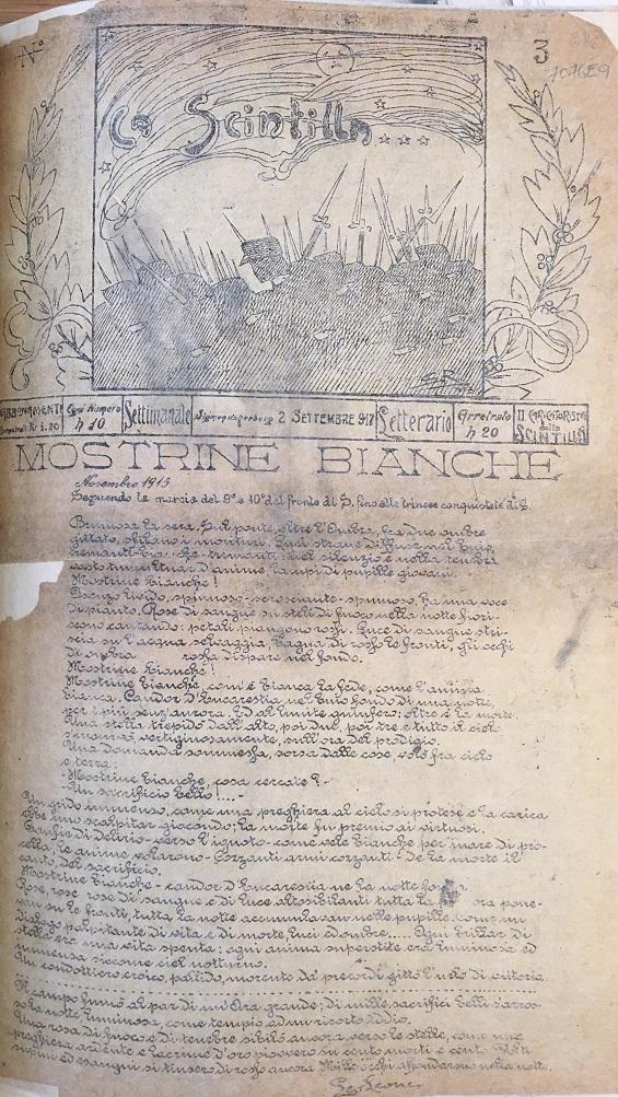 La Scintilla 2 September 1917