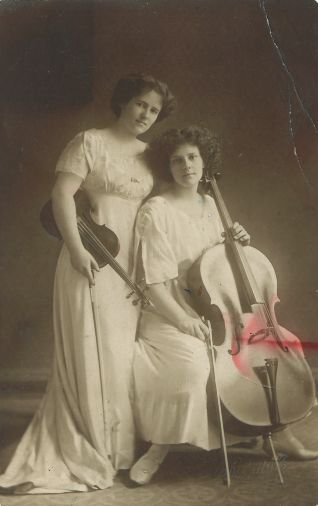 Beatrice and May Harrison