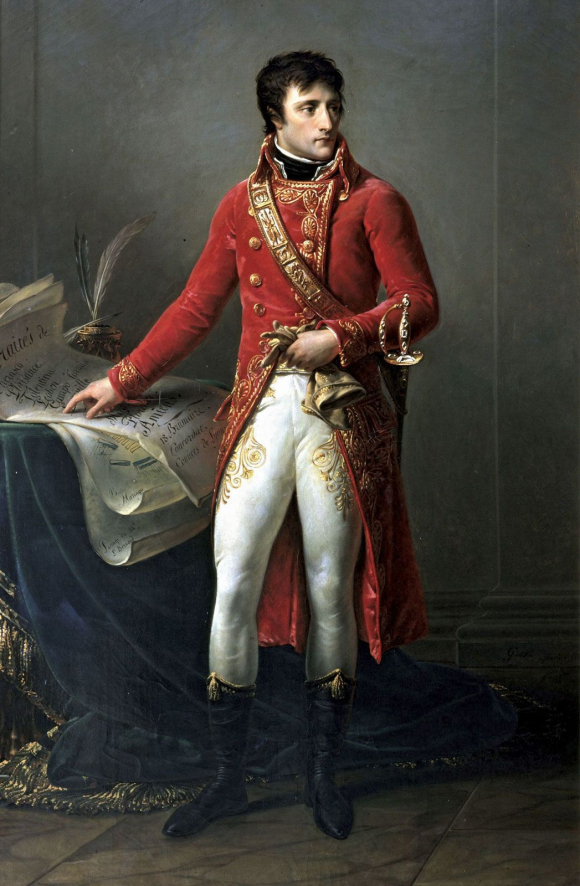 First Consul Bonaparte by Antoine-Jean Gros c. 1802