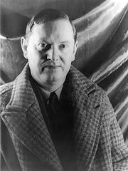 Photograph of Evelyn Waugh