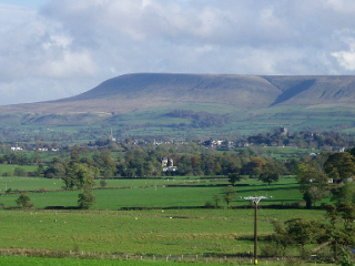 Photograph of Pendle Hill, Lancashire
