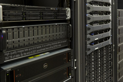 The British Library's digital servers