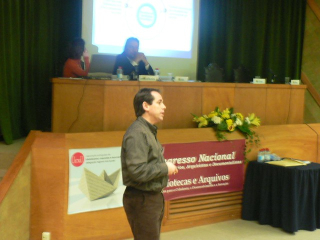 Filipe Bento giving a talk the BAD conference in the Azores
