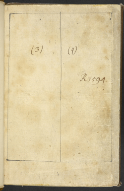 Successive shelfmarks used for Feiqe monogatari (Or.59.aa.1, preliminary pages)