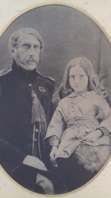 Photograph of George and Alice Larkins 1851