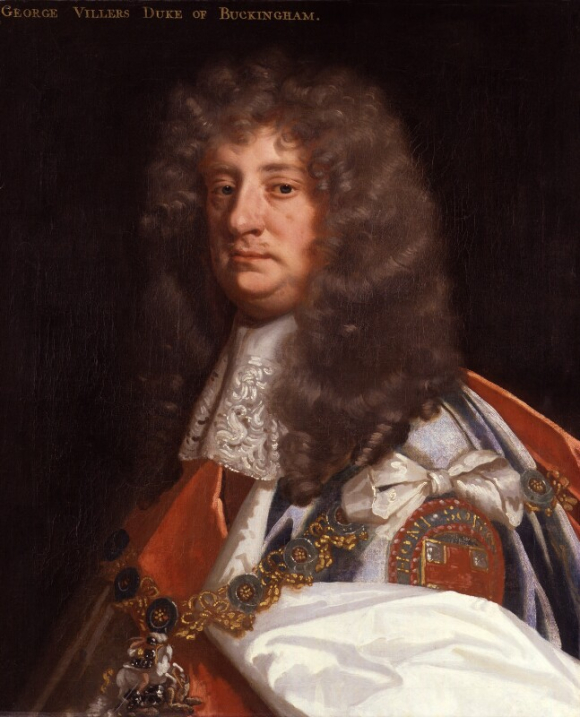 Portrait of George Villiers 2nd Duke of Buckingham