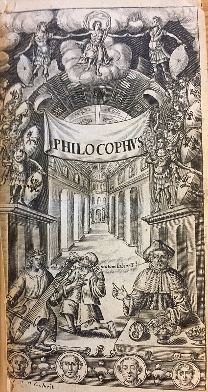 Title-page of John Bulwer's 'Philocophus'