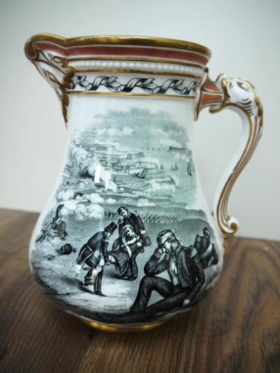 1855 jug sold to raise money for the Royal Patriotic Fund