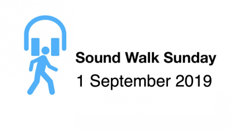 Sound walk sunday 2019