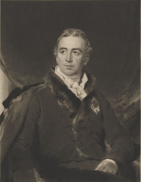 Portrait of Robert Dundas, 2nd Viscount Melville by Charles Turner