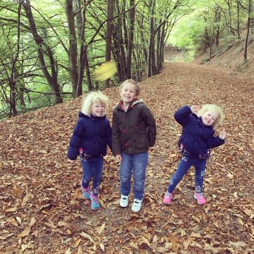 Emma Richards's three children