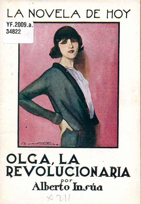Cover of 'OIga la revolucionaria', shelfmark  YF.2009.a.34822