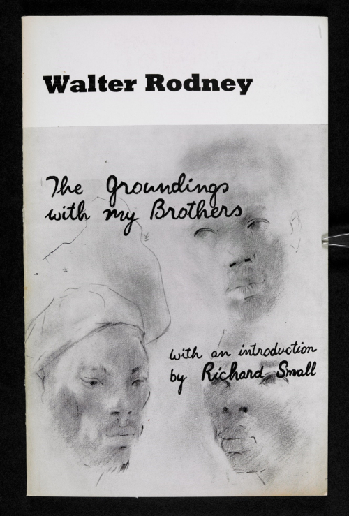 Front cover of The Groundings with my Brothers by Walter Rodney