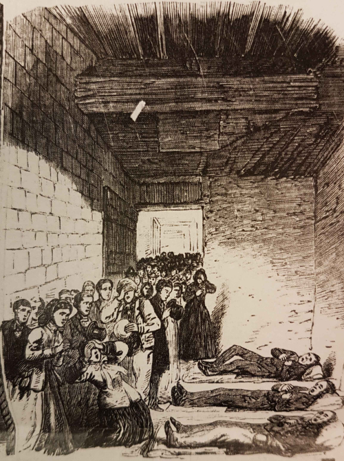 Identifcation of the bodies at Marylebone Workhouse