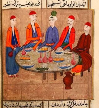 Or 13882 Dinner Scene