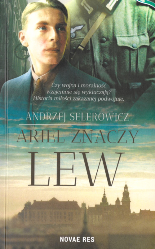 Cover of Ariel znaczy lew depicting Ariel and the German soldier