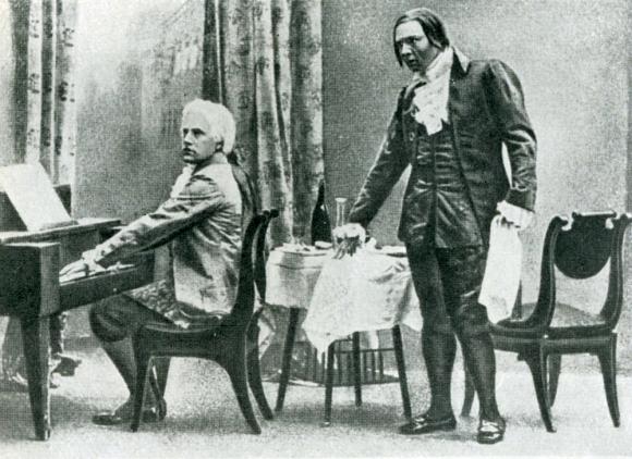 Chaliapin as Salieri