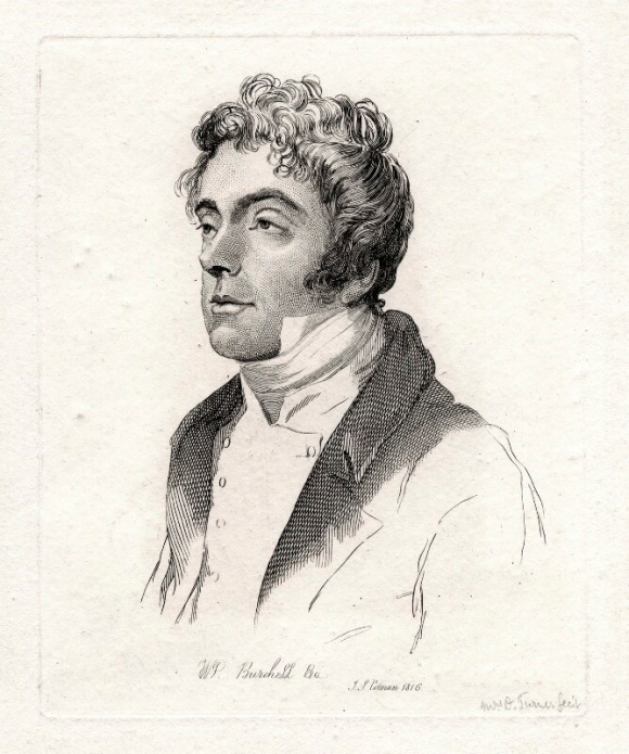 Portrait of William John Burchell