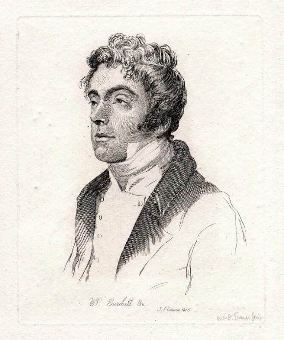 Portrait of William John Burchell