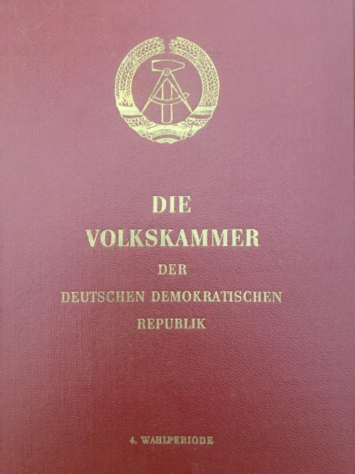 Cover of 'Die Volkskammer der Deutschen Demokratischen Republik'