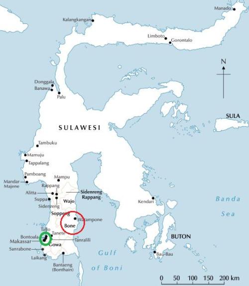 Sulawesi-Bone-Makassar