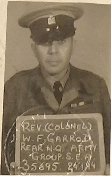 Photograph of William Garrod in Army uniform