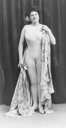 Full-length portrait photograph of La Freya