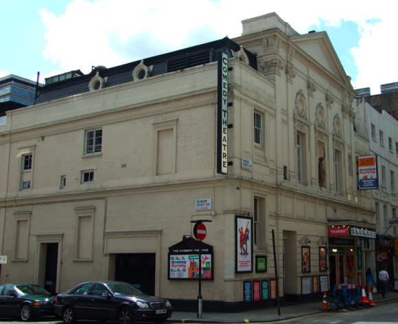 The Comedy Theatre, now The Harold Pinter Theatre