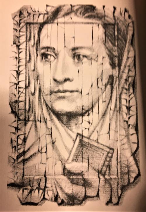 Portrait of Božena Němcová