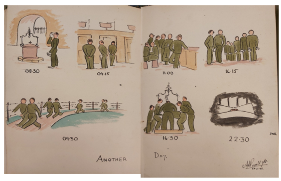 'Another Day' - sketches by Arthur Powell
