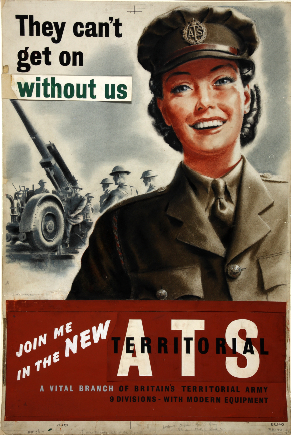 Auxiliary Territorial Services recruitment poster