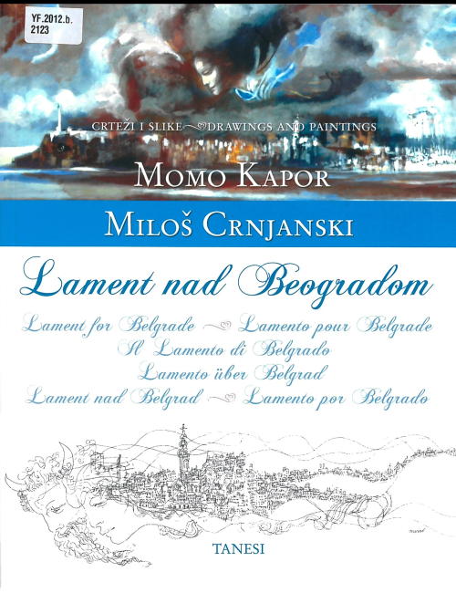 Front cover of Lament nad Beogradom