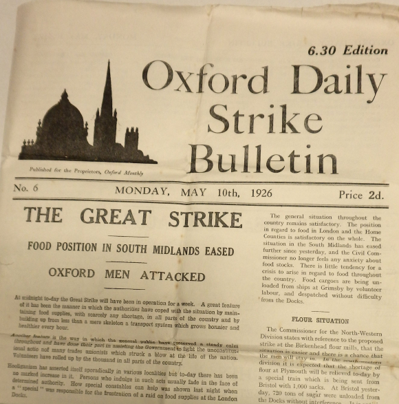 Oxford Daily Strike Bulletin