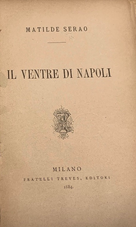 Title-page of Il Ventre di Napoli