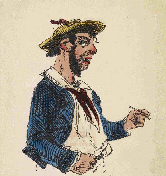 British sailor from mid 19th century