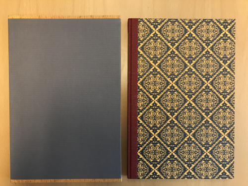 Photograph of slipcase and cover of Toni Morrison 'Five Poems'