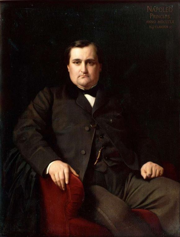 Napoléon Joseph Charles Paul Bonaparte by Hippolyte Flandrin